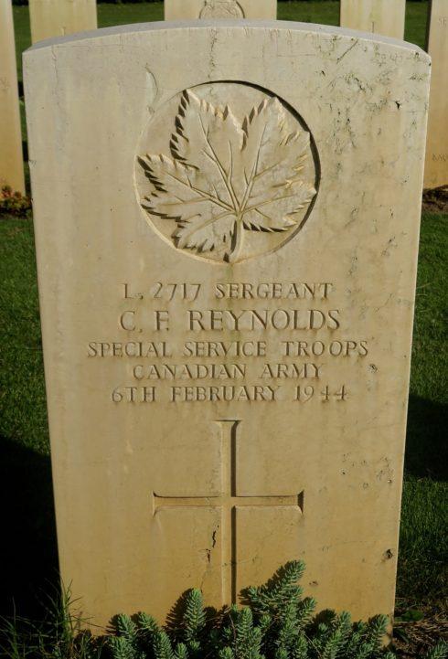 Sgt. Charles F. Reynolds