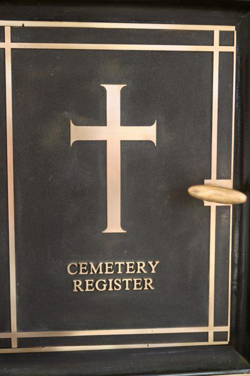 Cemetery Register, Agira