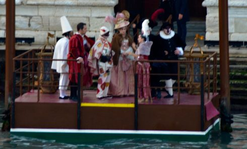 Venetian Party Goers