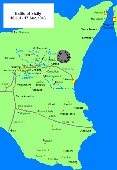 The way to Mount Assoro