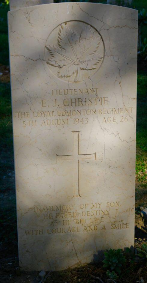 Lt. Earl John Christie