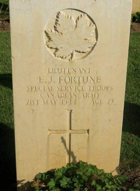Lt. Ernest Jean Fortune