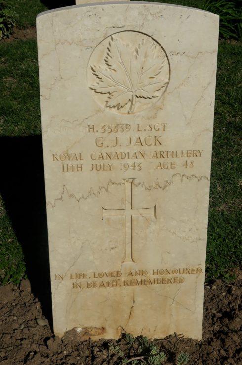 Lance Sgt. George John Jack