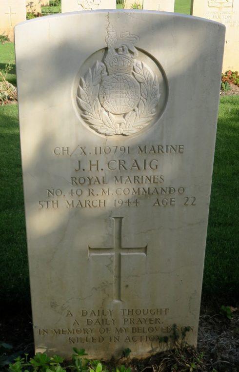 Marine John Henry Craig