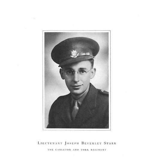 Lt. Joseph Beverly Starr