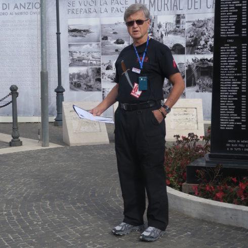 Neil Staff at Anzio
