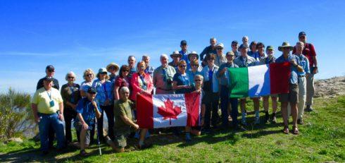 Group Photo on Mount Assoro