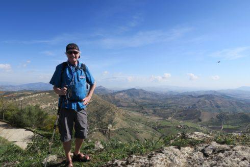 Standing on Mount Assoro