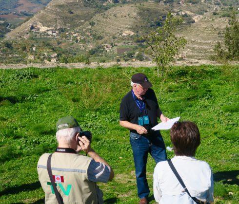 Phil Describing the Assault on Mount Assoro