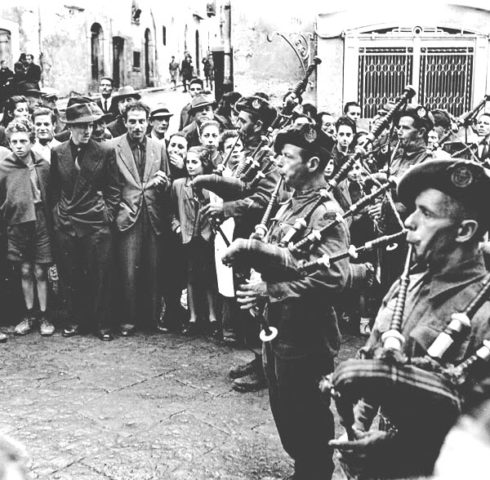48th Highlanders in Campobasso