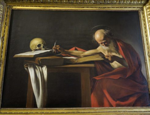 Borghese Gallery - St. Jerome by Caravaggio
