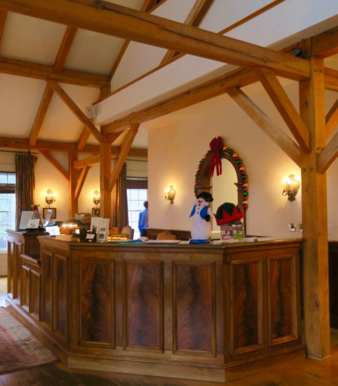 Montchanin Village Inn Front desk
