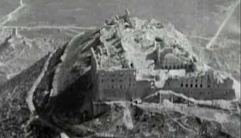 Monte Casssino after Allied Bombing