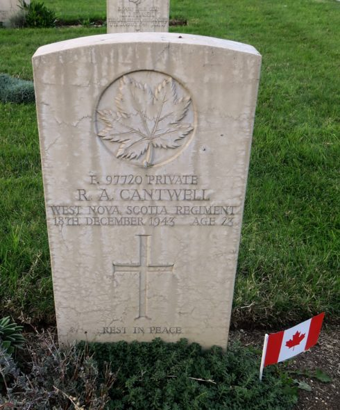 Private Russell Alexandra Cantwell