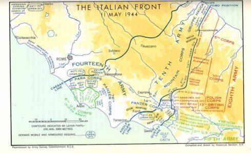 Italian Front May 1944