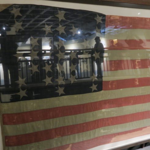 Photo of Fort Sumter Flag