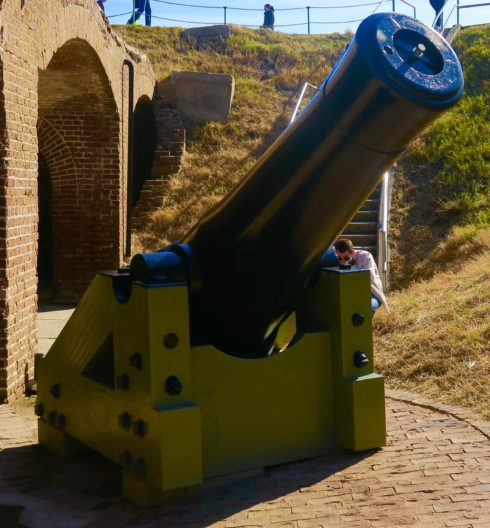 Fort Sumter Columbiad
