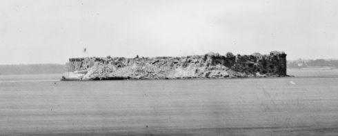 Fort Sumter 1865
