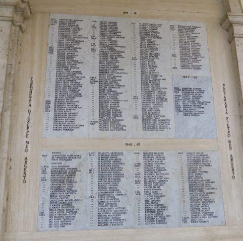 Italian war dead - Pontecorvo