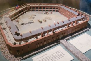 Model of Fort Sumter