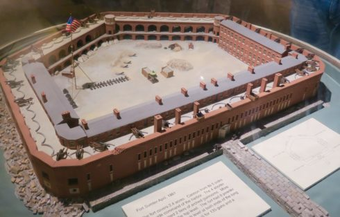 Model of Fort Sumter