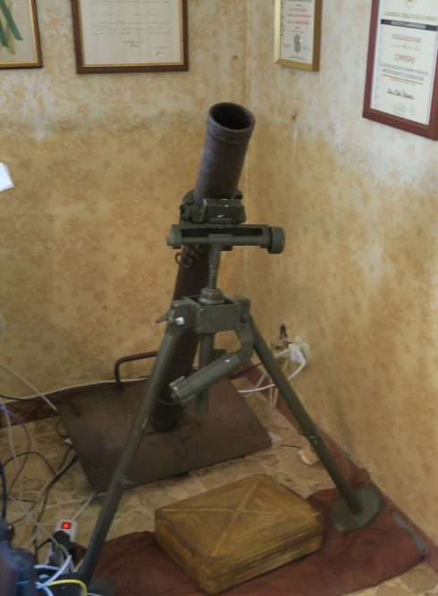 Mortar in a Law Office