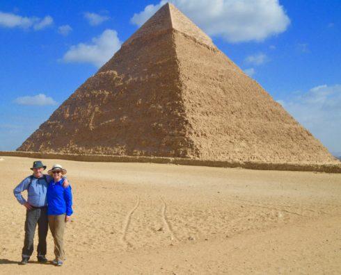 At the Pyramid of Khafre
