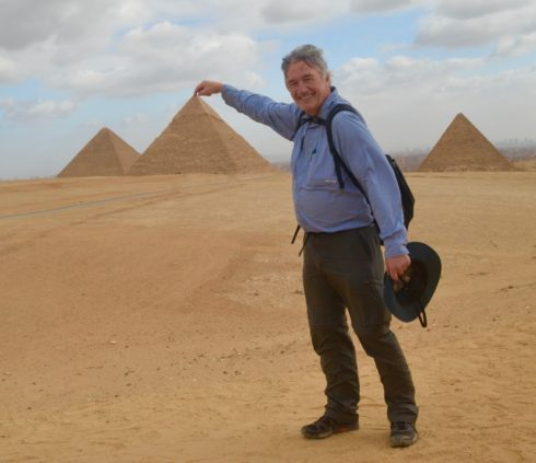Touching the Top of the Pyramids