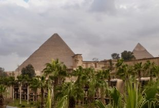 Mena House Pyramid View