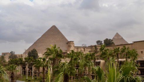 Mena House Pyramid View