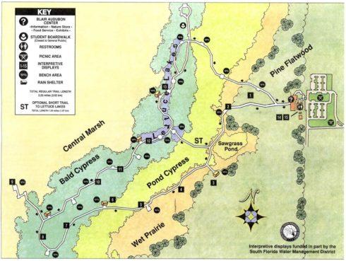 Corkscrew Sanctuary Map