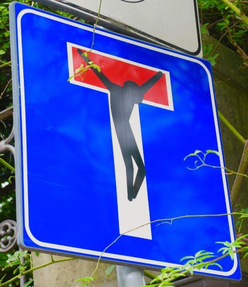 Florentine Road Sign