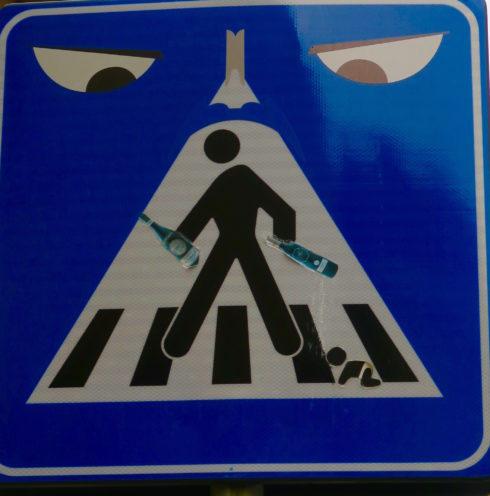 Florentine Road Sign 2