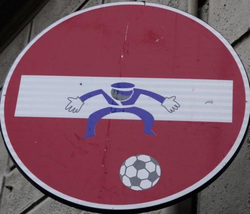 Florentine Road Sign 3