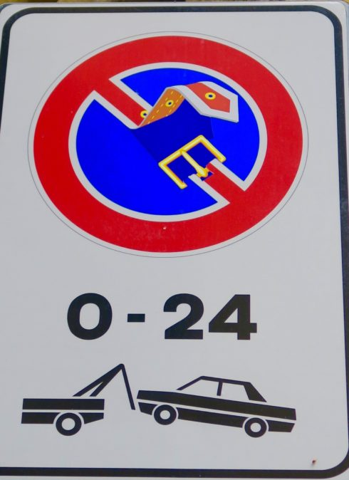 Florentine Road Sign 4