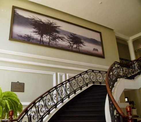 Left Staircase