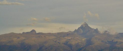 Mount Kenya from Sweetwaters