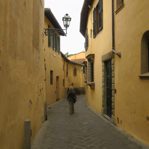 Narrow Lane Across the Arno, Florence