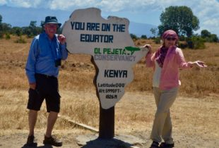 On Both Sides of the Equator