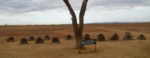Rhino Cemetery near Sweetwaters Camp