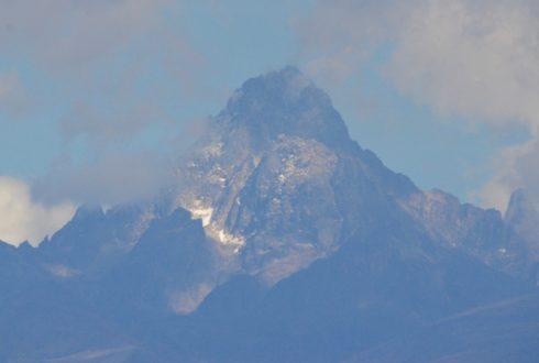 Sweetwaters View of Mount Kenya