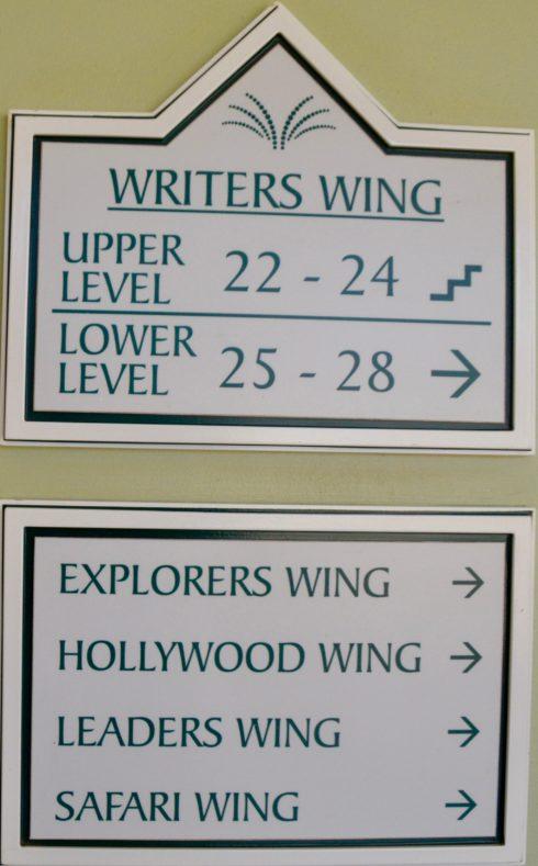Writer's Wing
