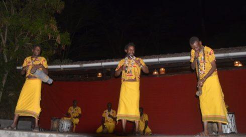 African Men Dancers