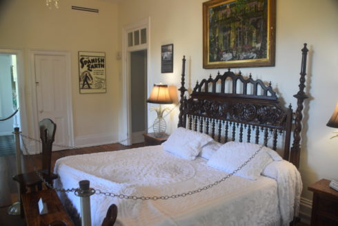Bedroom with Cat Underneath, Hemingway House