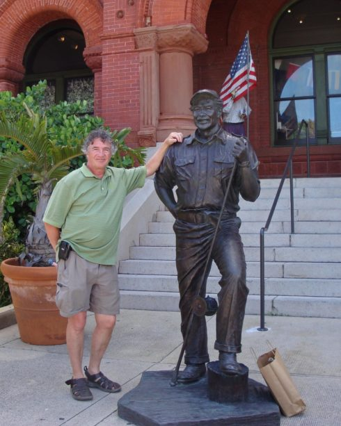With Ernest Hemingway in Key West