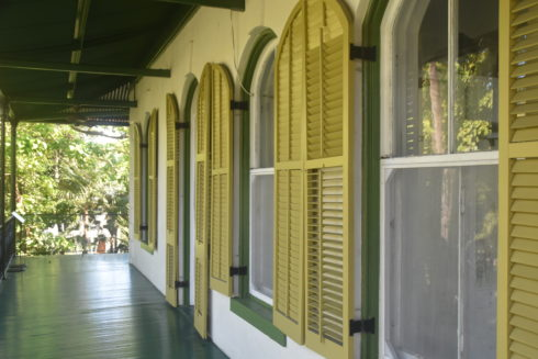 Downstairs Verandah, Hemingway House