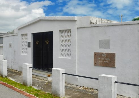 Dr. Felix Varela Masonic Lodge Crypt, Key West Cemetery