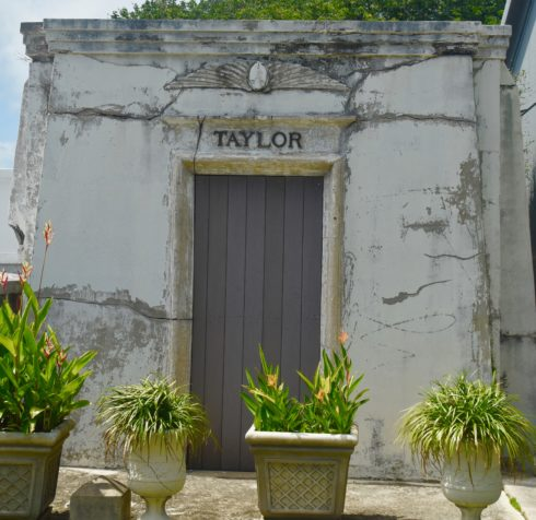 Egyptian Motif Crypt, Key West Cemetery