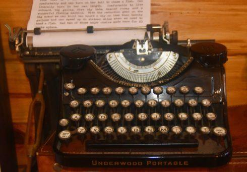 Hemingway Typewriter, Hemingway House