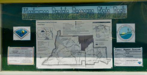 Kissimmee Prairie Preserve Entrance Sign